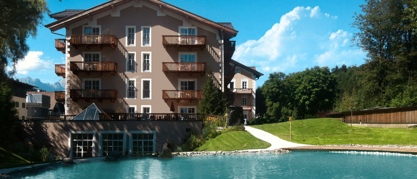 Q Resort Health & Spa, Kitzbühel, Austria - exterior and pool.jpg